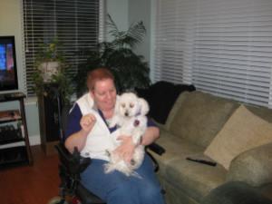 Terri and Sadie