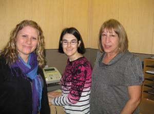 Wendy, Amanda and Cheryl