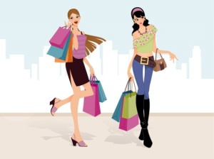 shopping cropped
