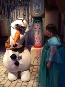 Leah and Olaf