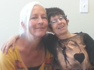 Nolda with Michaela